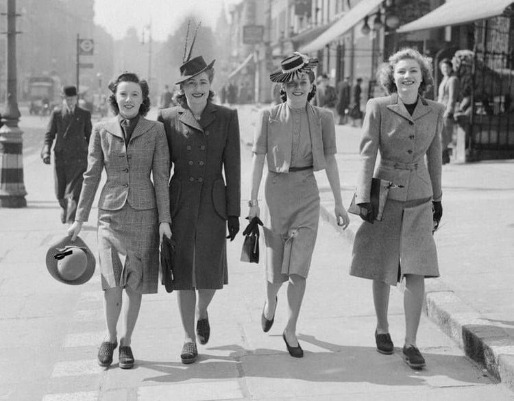Mode in de jaren 40