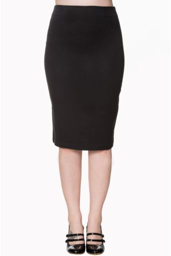 Paula Pencil Skirt Black