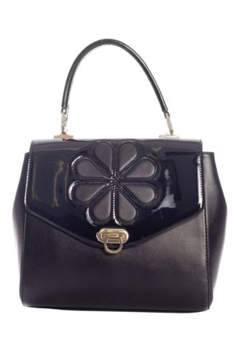 Waterlily Handbag Black
