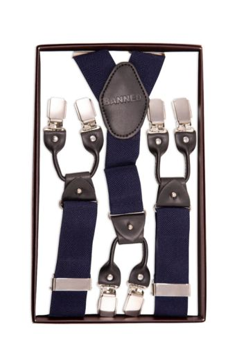 Jefferson Braces Men Navy