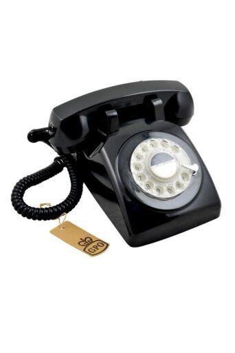Huistelefoon in Zwart