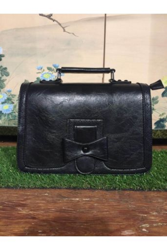 Vintage Scandel Bag in Black