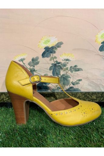 Joelle Pumps Yellow