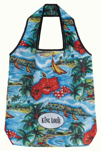 Great White Eco Bag Atlantic Blue