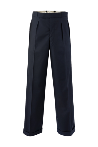Plain Black Mans 40s Trouser