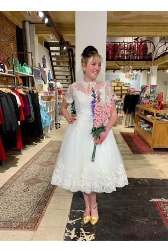 Nico Lace Bridal Gown Off White